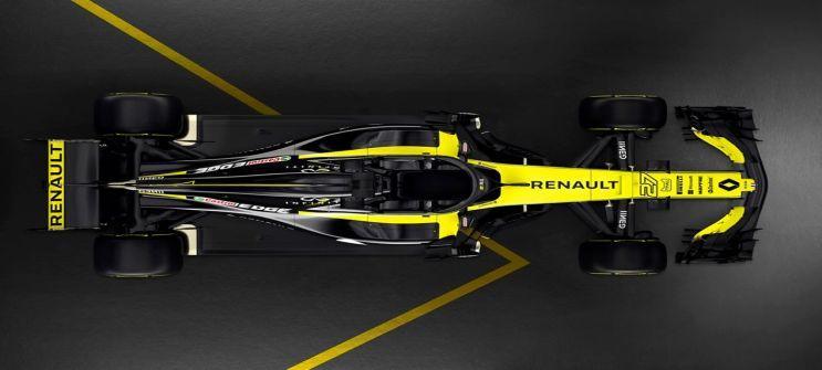 Renault Sport Formula One Team reveals 2018 challenger ...